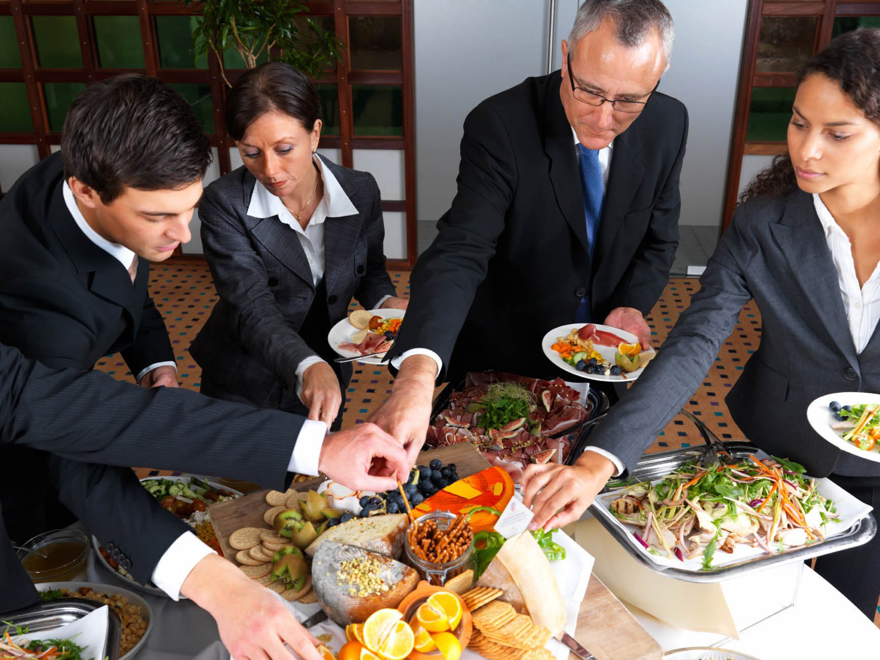 Офисы, в которых организовано корпоративное питание