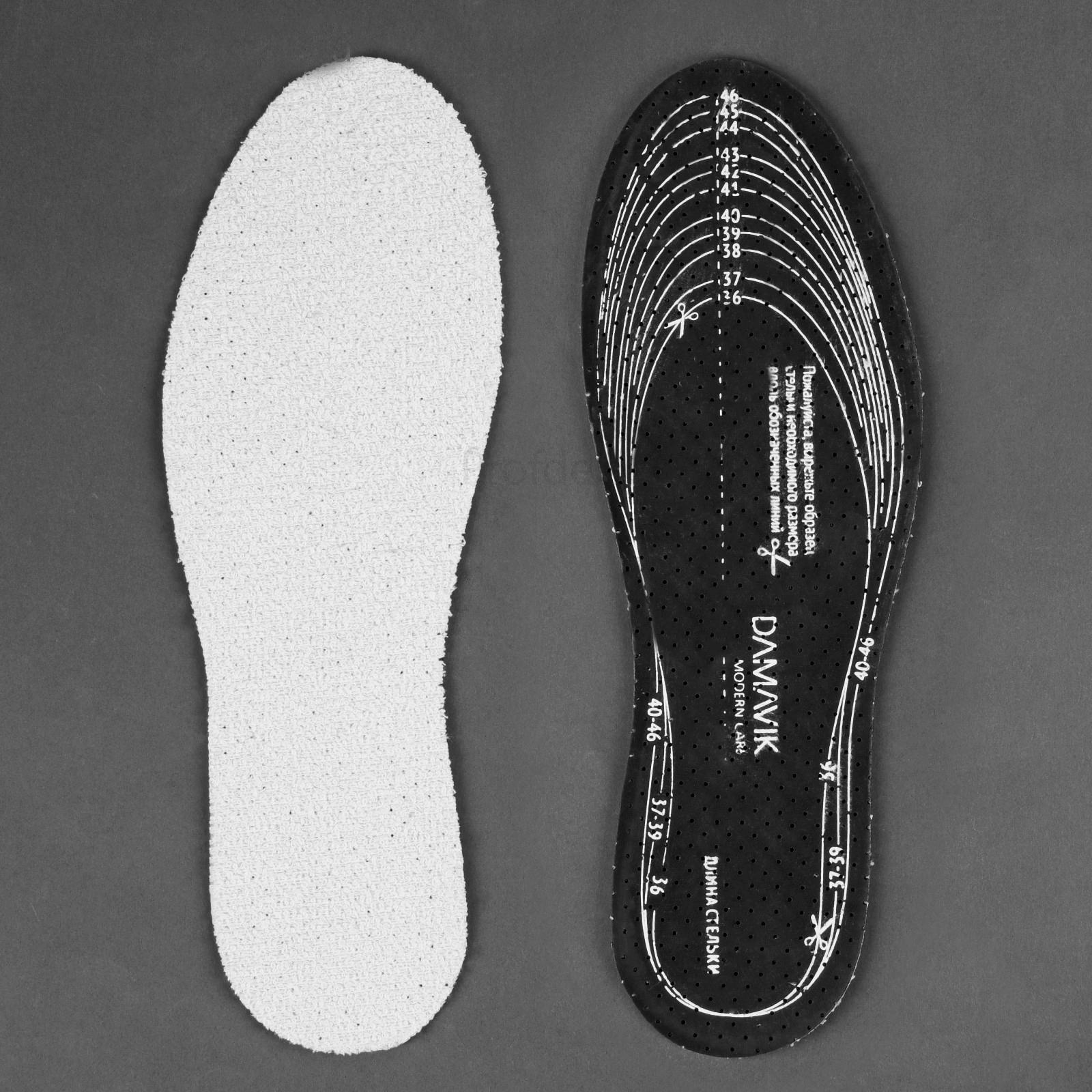 Изготовление вкладных стелек для трекинговой обуви