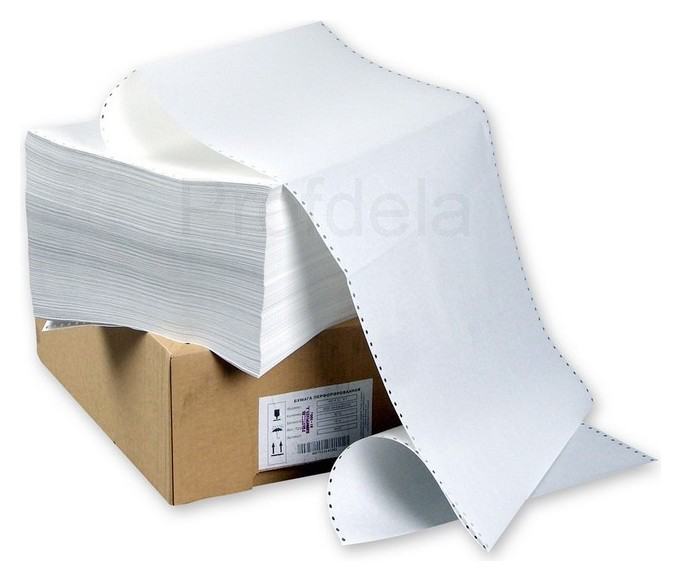 Перфорированная бумага для принтера