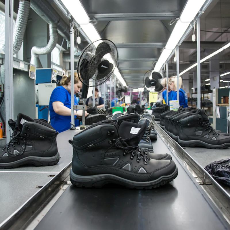 Производство и продажа спортивной и трекинговой обуви